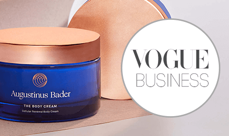 Vogue Business: Augustinus Bader's approach to building a modern luxury skincare brand